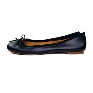 J. Crew Shoes - J Crew Leather Ballet Flats  EUC